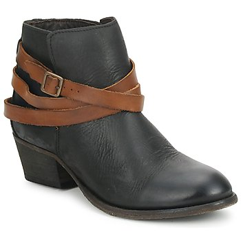 Cipők Női Bokacsizmák Hudson HORRIGAN Fekete