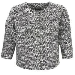material Női Kabátok / Blézerek Mexx MX3002331 Fekete  / Fehér
