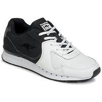 Cipők Férfi Rövid szárú edzőcipők Kangaroos COIL-R2 TONE Fehér / Fekete