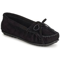 Cipők Női Mokkaszínek Minnetonka KILTY SUEDE MOC Fekete