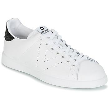 Cipők Női Rövid szárú edzőcipők Victoria DEPORTIVO BASKET PIEL Fehér / Fekete