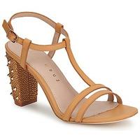 Cipők Női Szandálok / Saruk Lola Cruz STUDDED Bézs / Cserszínű