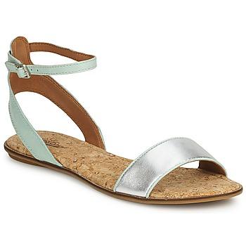 Cipők Női Szandálok / Saruk Lucky Brand COVELA Menta / Ezüst