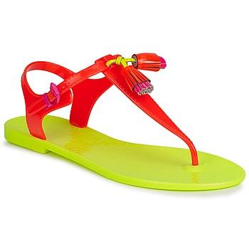 Cipők Női Szandálok / Saruk Juicy Couture WISP Neon / Narancssárga