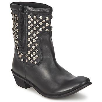 Cipők Női Csizmák Friis & Company DUBLIN JANI Fekete