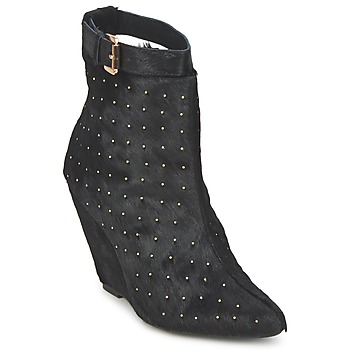 Cipők Női Bokacsizmák Friis & Company KANPUR Fekete