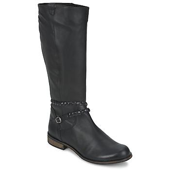 Cipők Női Városi csizmák So Size BERTOU Fekete