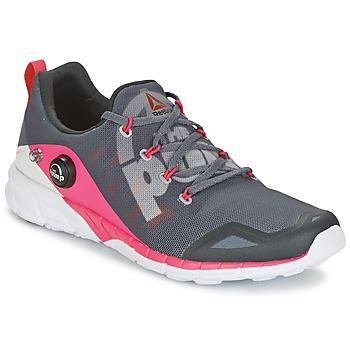 Shoes Női Futócipők Reebok Sport REEBOK ZPUMP FUSION Szürke / Rózsaszín