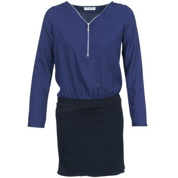 Ruhák Női Rövid ruhák Betty London DEYLA Fekete  / Tengerész