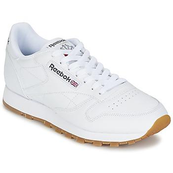 Cipők Rövid szárú edzőcipők Reebok Classic CLASSIC LEATHER Fehér