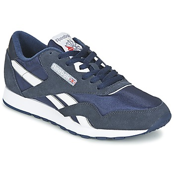 Cipők Női Rövid szárú edzőcipők Reebok Classic CLASSIC NYLON Kék