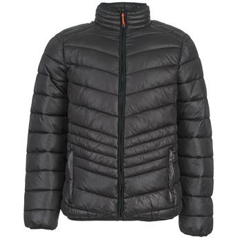 Ruhák Férfi Steppelt kabátok Yurban DALE Fekete