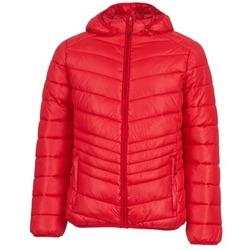 Ruhák Férfi Steppelt kabátok Yurban DAVE Piros