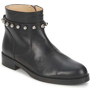 Cipők Női Csizmák Moschino Cheap & CHIC CA21102MOYCE0000 Fekete