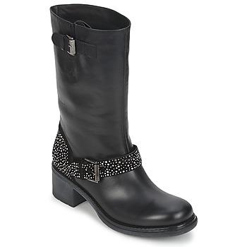 Cipők Női Csizmák Janet Sport CARYFENO Fekete