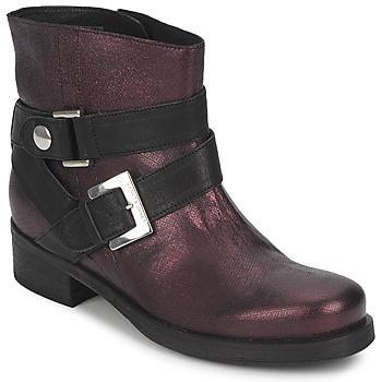 Cipők Női Csizmák Janet&Janet URSUS VAN Bordó