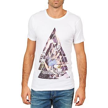 Ruhák Férfi Rövid ujjú pólók Eleven Paris BERLIN M MEN Fehér