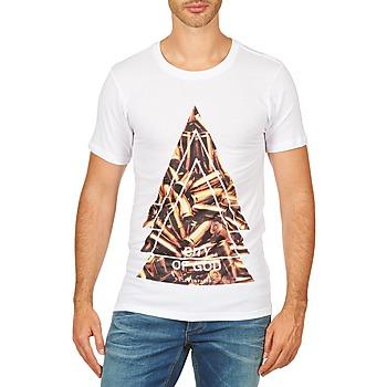 Ruhák Férfi Rövid ujjú pólók Eleven Paris CITYGOD M MEN Fehér