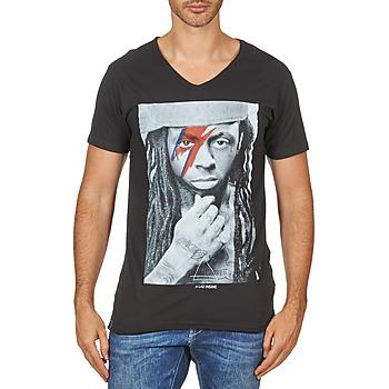 Ruhák Férfi Rövid ujjú pólók Eleven Paris KAWAY M MEN Fekete