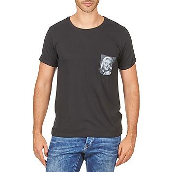 Ruhák Férfi Rövid ujjú pólók Eleven Paris MARYLINPOCK MEN Fekete