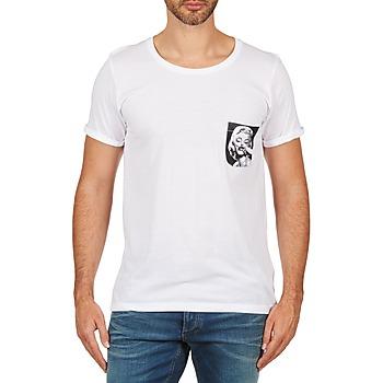 Ruhák Férfi Rövid ujjú pólók Eleven Paris MARYLINPOCK MEN Fehér