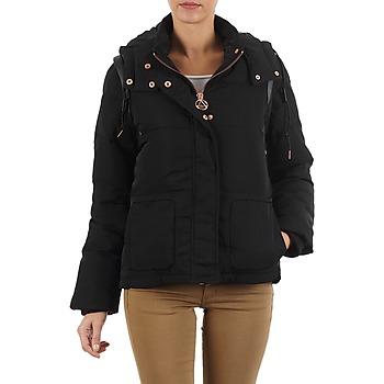 Ruhák Női Steppelt kabátok Eleven Paris TAELLY WOMEN Fekete