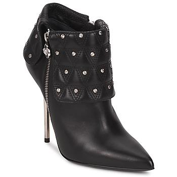 Cipők Női Bokacsizmák Versace DSL894P Fekete