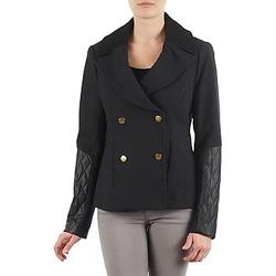 Ruhák Női Kabátok / Blézerek Manoukian MEELTON Fekete