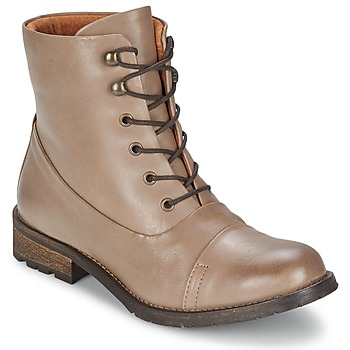 Shoes Női Csizmák Pieces SENIDA LEATHER BOOT Tópszínű