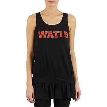 Ruhák Női Trikók / Ujjatlan pólók Wati B TUNIQ Fekete