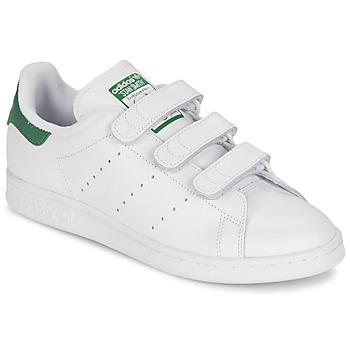Cipők Rövid szárú edzőcipők adidas Originals STAN SMITH CF Fehér / Zöld