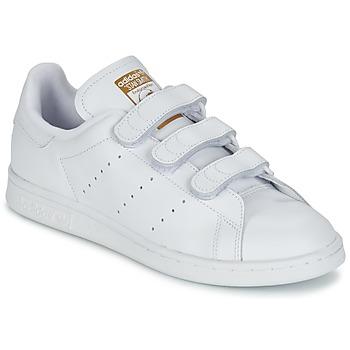 Cipők Rövid szárú edzőcipők adidas Originals STAN SMITH CF Fehér