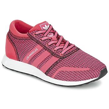 Cipők Női Rövid szárú edzőcipők adidas Originals LOS ANGELES W Rózsaszín