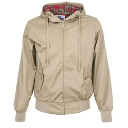 Ruhák Férfi Dzsekik Harrington HARRINGTON HOODED Bézs