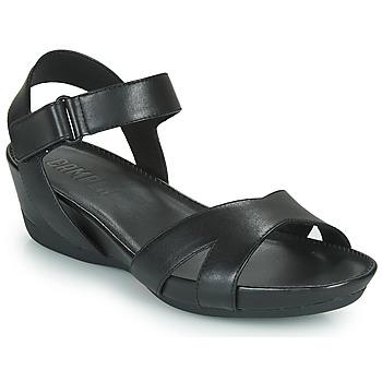 Cipők Női Szandálok / Saruk Camper MICRO Fekete