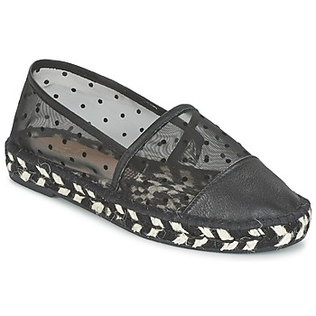 Cipők Női Gyékény talpú cipők Paul & Joe Sister GAIA Fekete