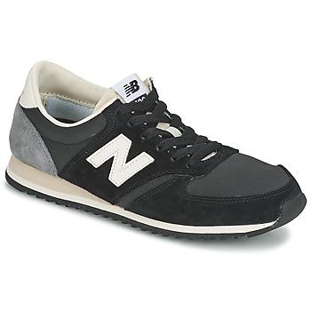 Cipők Rövid szárú edzőcipők New Balance U420 Fekete