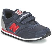 Cipők Gyerek Rövid szárú edzőcipők New Balance KE420 Tengerész / Piros