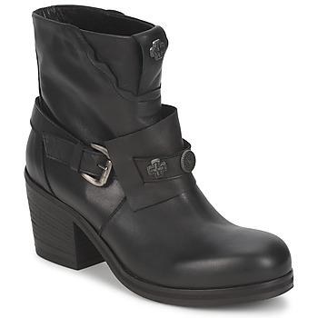 Cipők Női Bokacsizmák Strategia MAUTAU Fekete