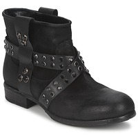 Cipők Női Csizmák Strategia LUMESE Fekete