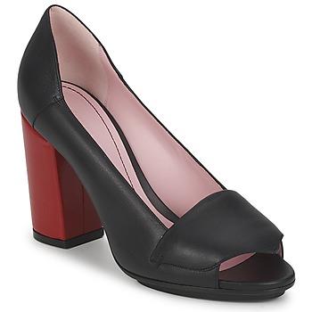 Cipők Női Félcipők Sonia Rykiel 657940 Fekete  / Piros