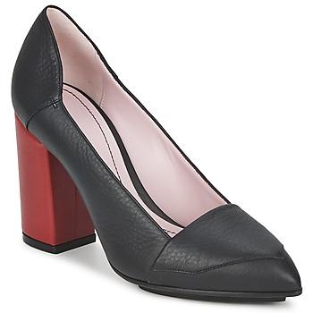 Cipők Női Félcipők Sonia Rykiel 657942 Fekete  / Piros