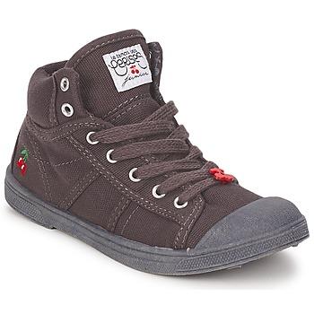 Cipők Gyerek Magas szárú edzőcipők Le Temps des Cerises BASIC-03 KIDS Barna