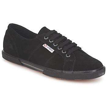 Cipők Rövid szárú edzőcipők Superga 2950 Fekete
