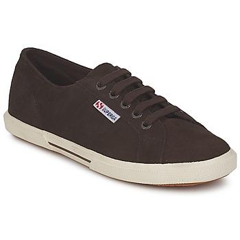 Cipők Női Rövid szárú edzőcipők Superga 2950 Csokoládé