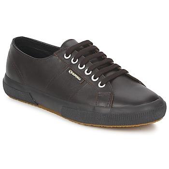 Cipők Rövid szárú edzőcipők Superga 2750 Csokoládé