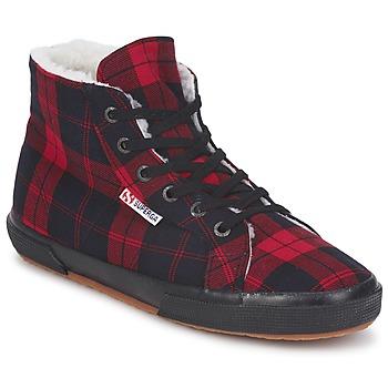 Cipők Magas szárú edzőcipők Superga 2095 Piros / Fekete