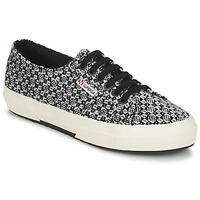 Cipők Női Rövid szárú edzőcipők Superga 2750 FANTASY Fekete  / Fehér