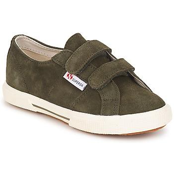 Cipők Gyerek Rövid szárú edzőcipők Superga 2950 Katonai
