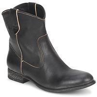 Cipők Női Csizmák n.d.c. SAN MANUEL CAMARRA SLAVATO Fekete